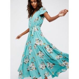 Free People All I Got Floral Maxi Dress